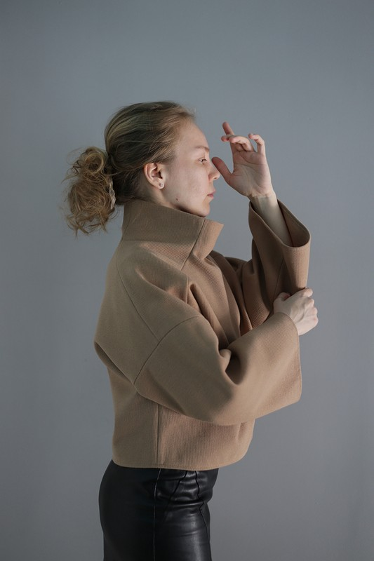 Пуловер от Katerina-Caatje