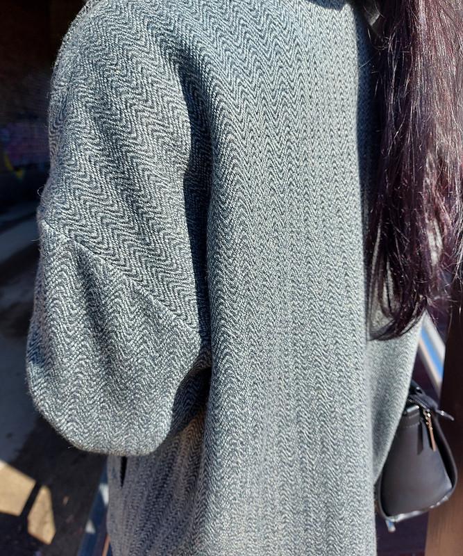 Куртка-косуха изпальтовой ткани от vol4ica