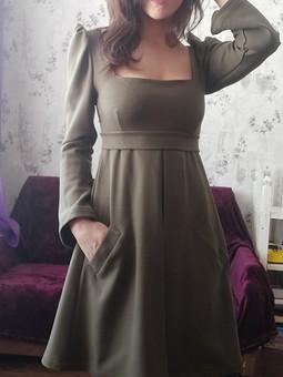 Работа с названием Платье для осени