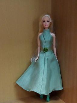 Работа с названием Платье для Барби