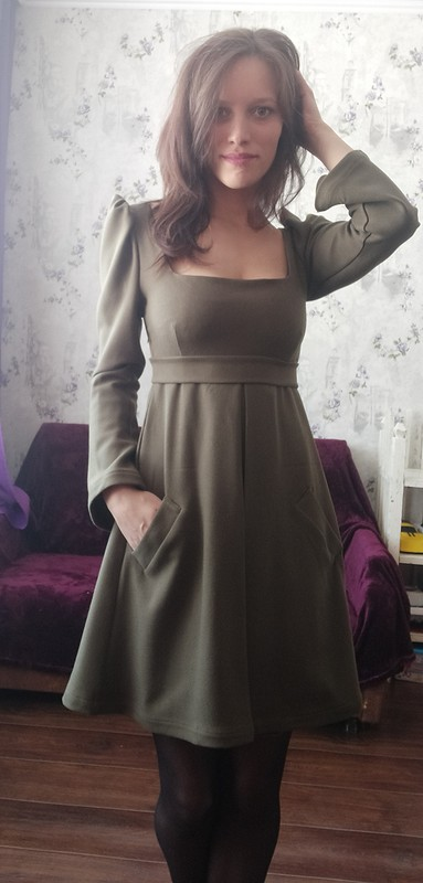 Платье дляосени от Галина666