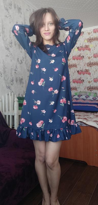Платье А-силуэта от Галина666