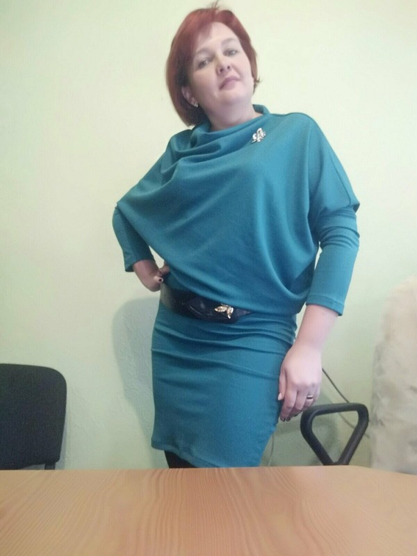 Платье наскорую руку от lenakost