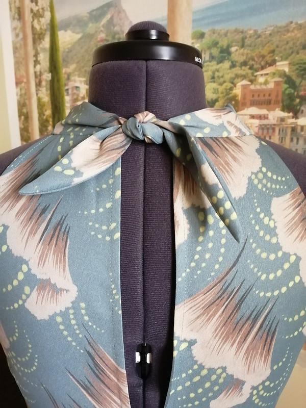 Платье «Мятные перья» от Sukharenko
