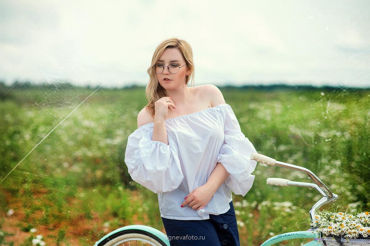 Безразмерная блуза от Ксения Огнева