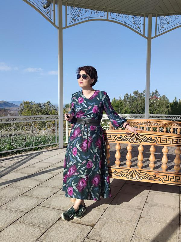 Платье «И даже пень, ввесенний день, березкой стать мечтает» от @vera_ch.k