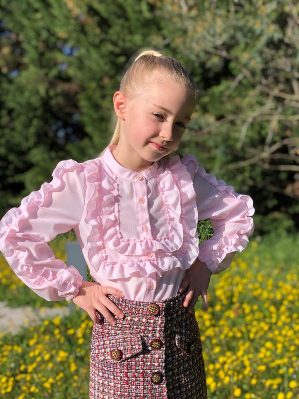 Блуза зефирка от SvetlanaLiman