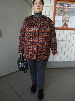 Работа с названием Куртка, фуфайка, телогрейка...