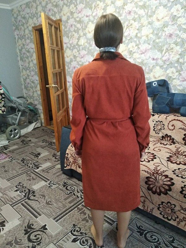 Вельветовое платье от Барсукова Светлана