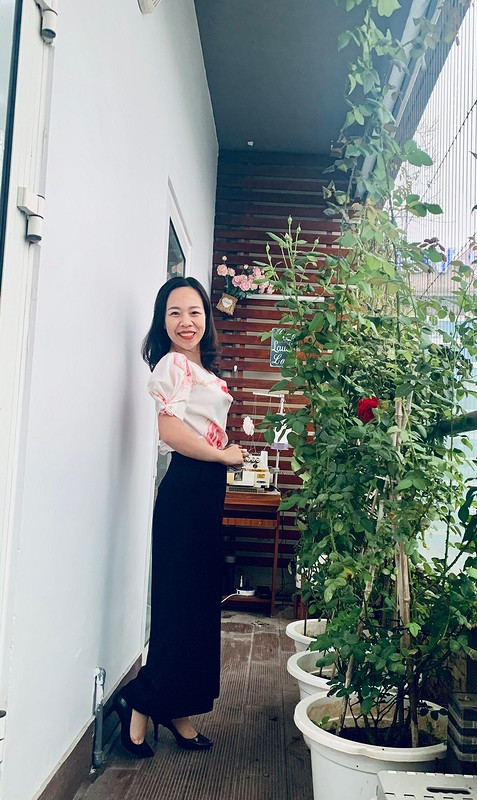 Топ «Lovely top» от Binh Ngo