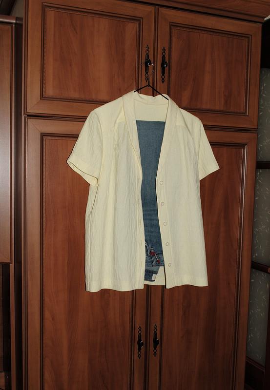 Рубашка из«жатого» льна от ulya28051983