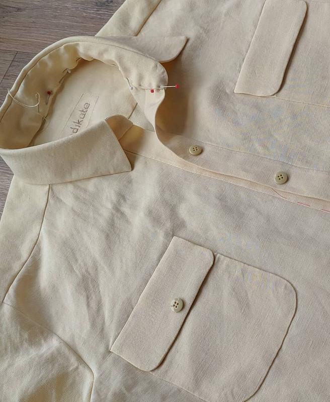 Солнечная рубашка от indikate_atelier