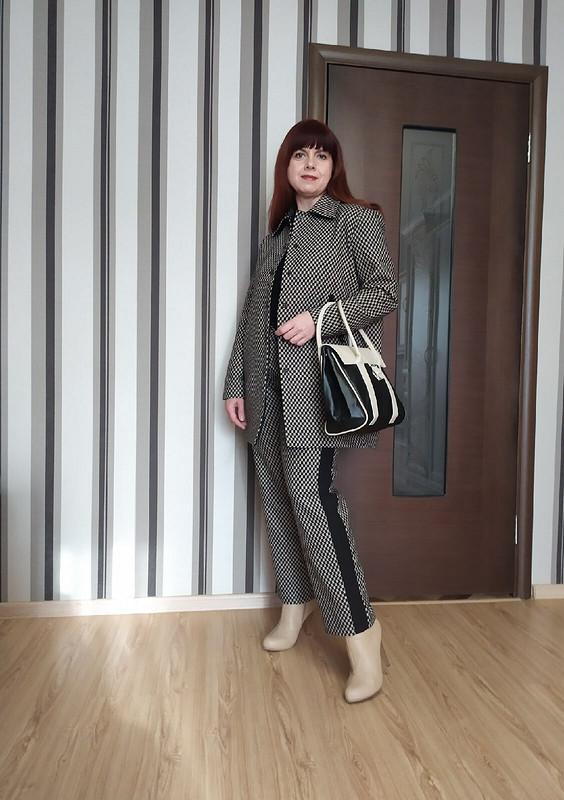 Жакет ибрюки «Мат втри хода...» от Елена Мамонтова