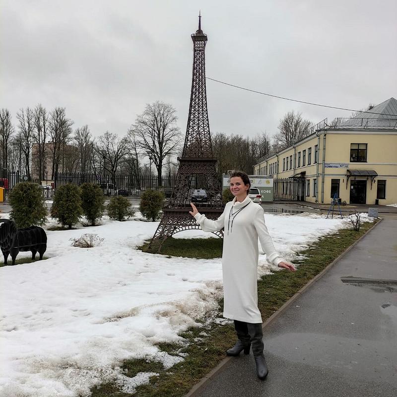 Белое платье-свитер от Natasha_NM