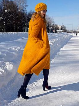 Работа с названием Солнечное пальто