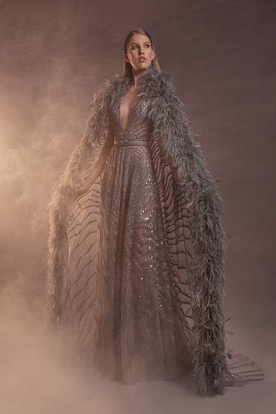 Ливанская царевна-лебедь: кутюрная коллекция весна-лето'21 отZuhair Murad
