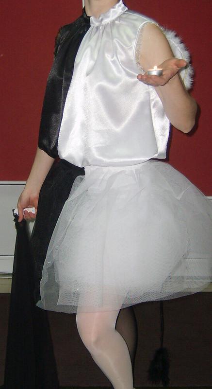 Карнавальный костюм «Две сущности» от Алё-Алёнка