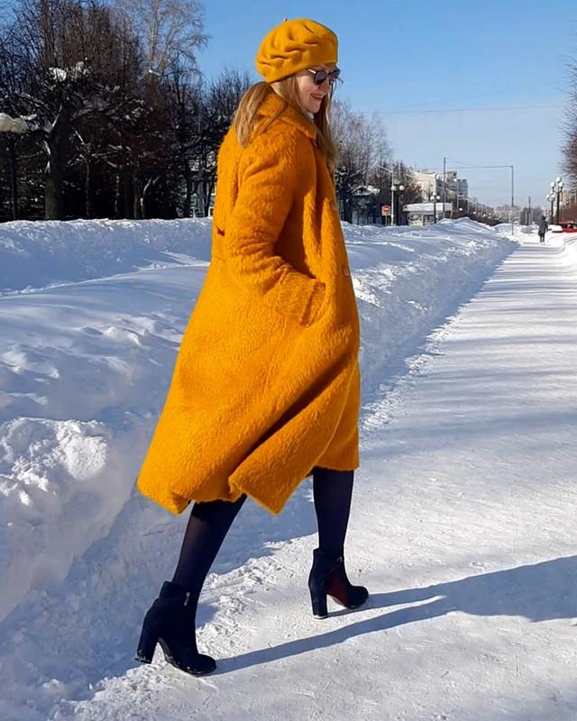 Солнечное пальто от Светлана Полушина