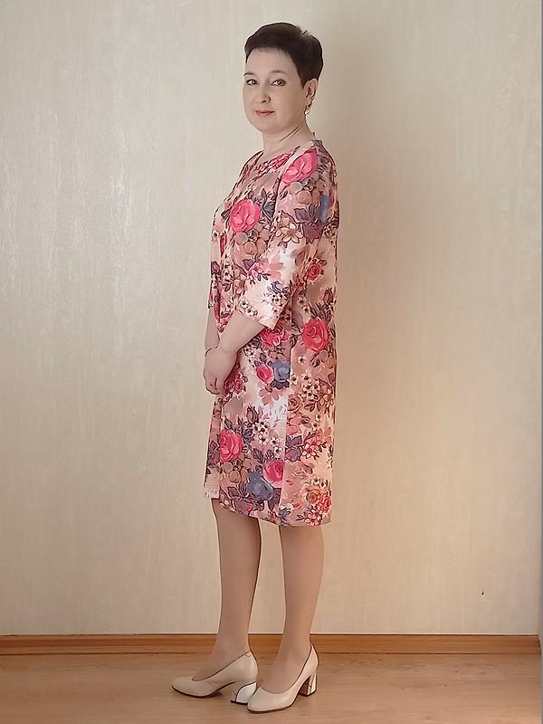 Простое весеннее платье от Людмила @m.madmuasel