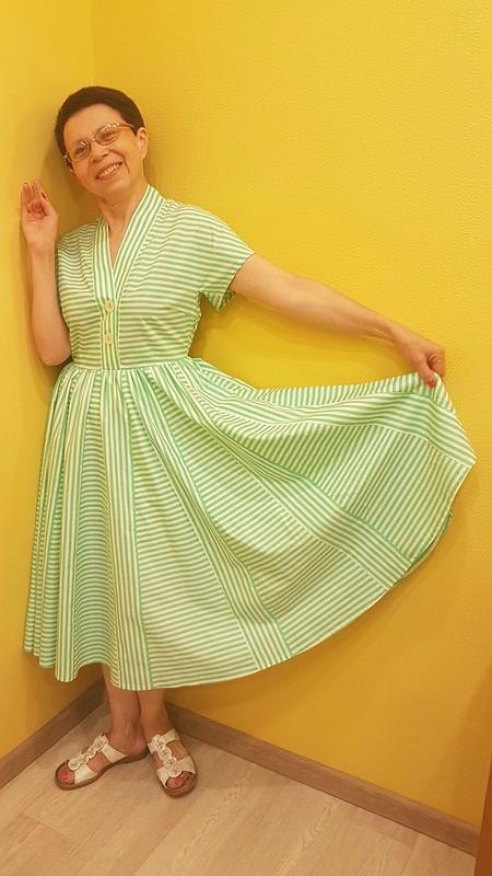 Платье встиле ретро №121 — выкройка изBurda 7/2020 от Тамара Арзамасцева