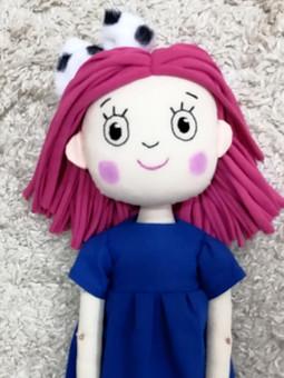 Работа с названием Текстильная кукла Смарта