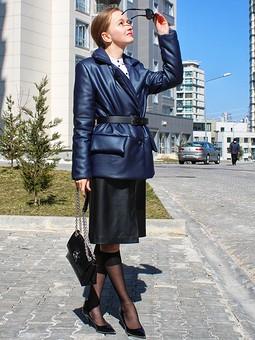 Работа с названием Жакет-куртка