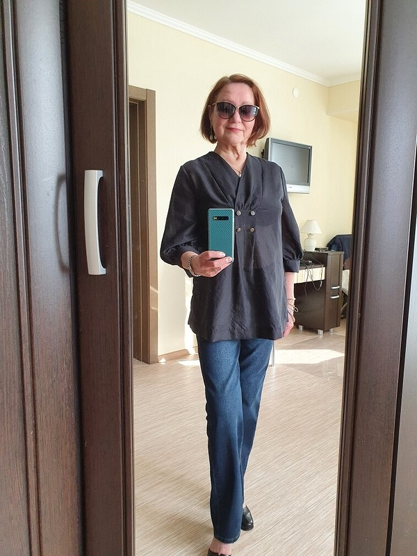 Блузка «Ностальгия поПарижу...» от Helen0808