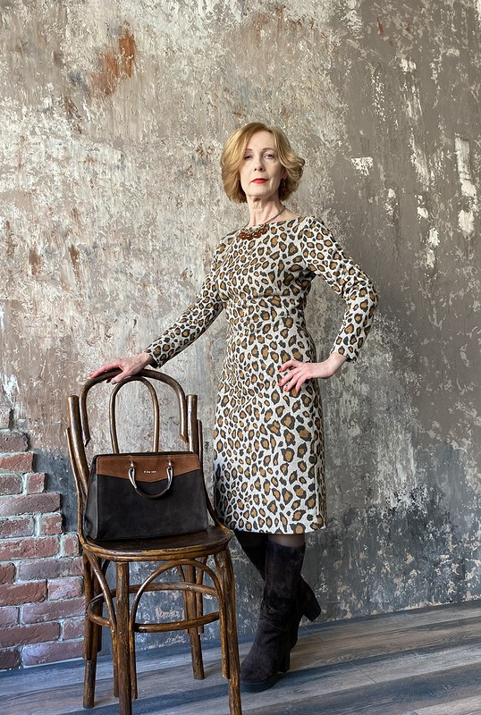 Платье «Приручить леопарда» от Азалия