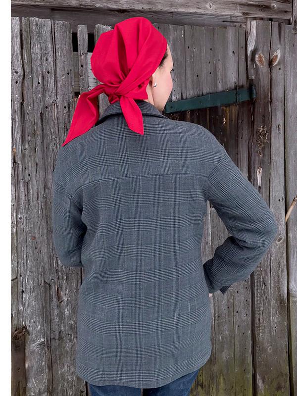 Рот фронт: Куртка-рубашка из12/2020 от TanjaF