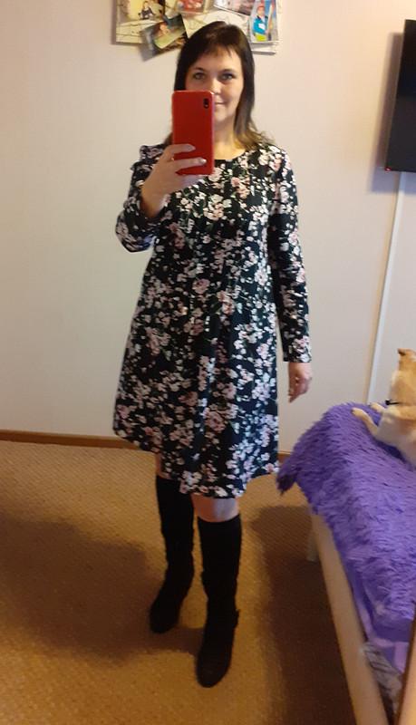 Платье свободного покроя от Евгения