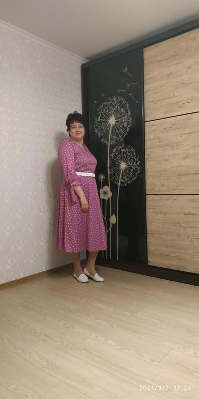 Платье цвета орхидеи от STI