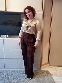 Работа с названием Просто штаны и блуза