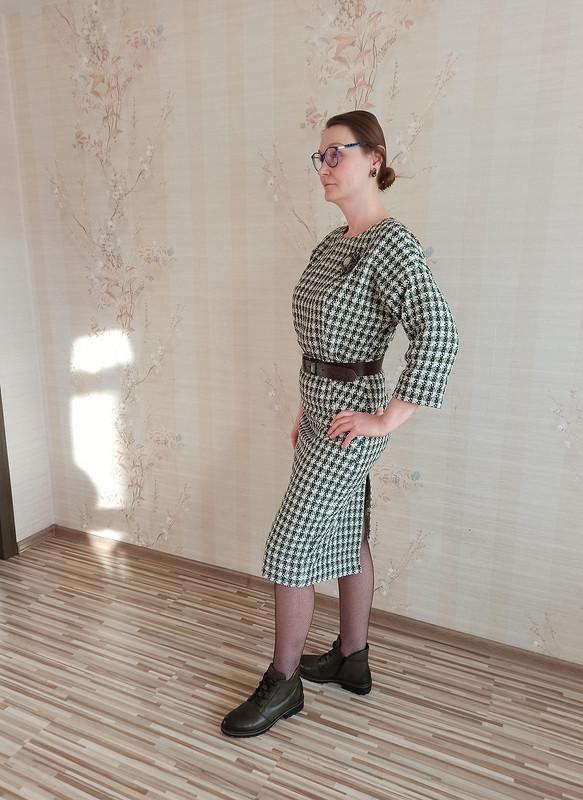 Платье изрогожки от Ezhevika