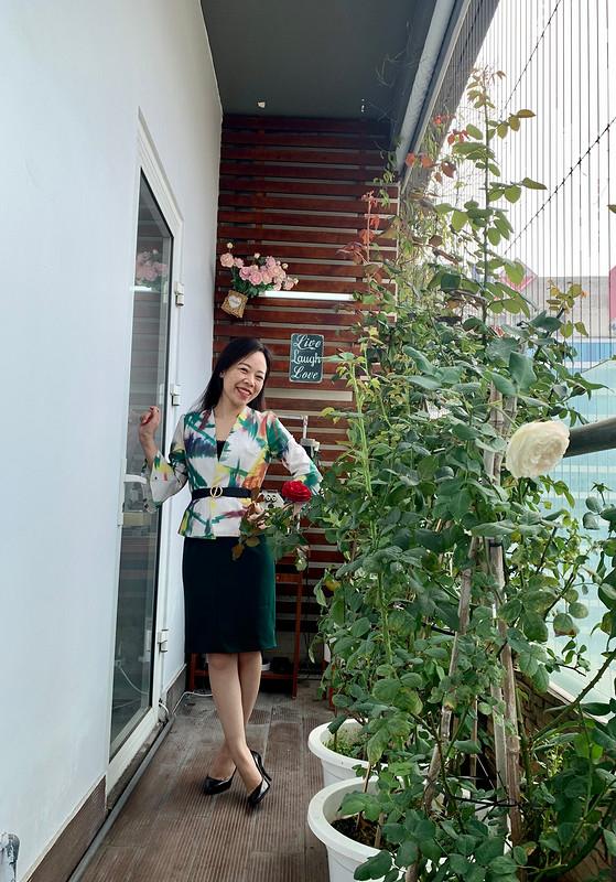 Блузка июбка «Cool set for spring» от Binh Ngo