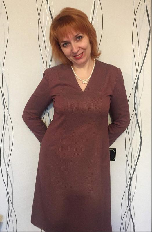Платье «Девушка вкрасном» от АленкаКр