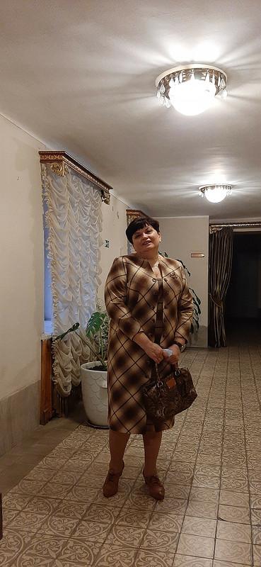 Платье вклетку от Kirolga