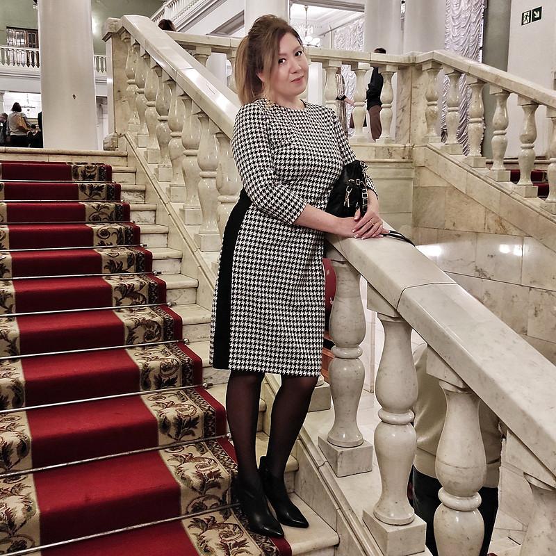 Платье pied-de-poule - любовь спервого взгляда от Nadin