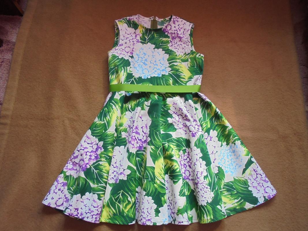 Платье изпоплина от Patrolaj
