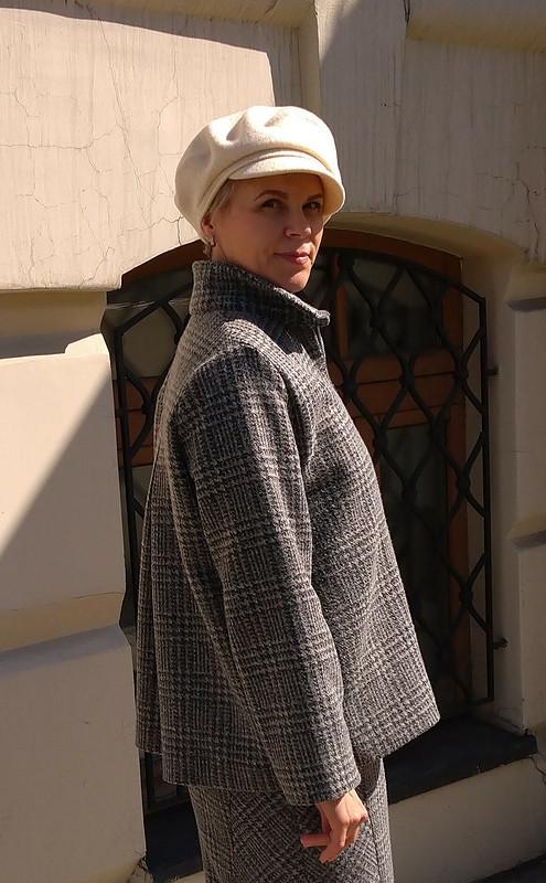 Жакет своротником стойка от Наташа