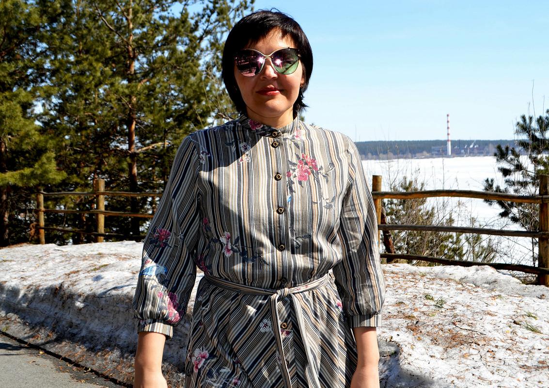 Платье «Игра сполоской» от Любаева Светлана