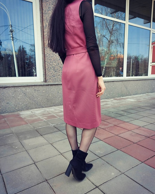 Платье-жилет «Перламутровая помада» от vol4ica