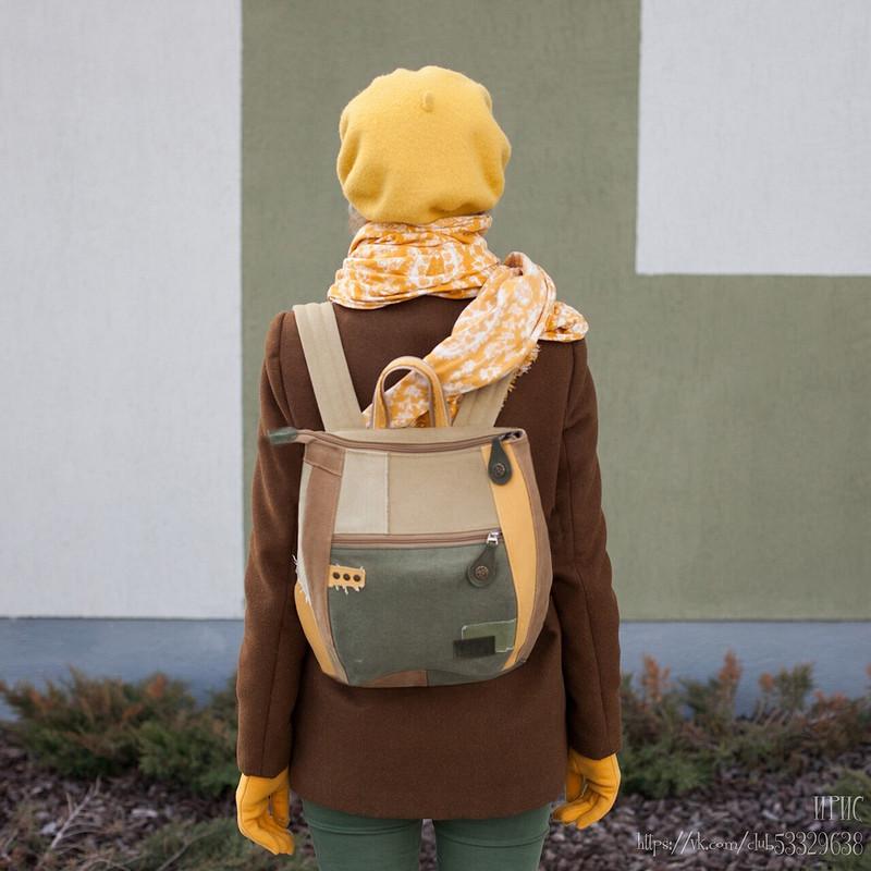 Рюкзак Черепашка от Irinka