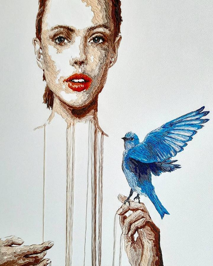 Красочные картины, созданные иглой инитью: рукодельный instagram недели