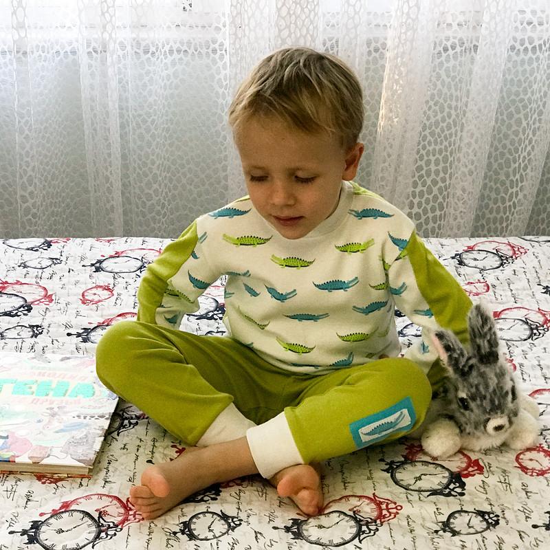 Пижама длямальчика «Крокодилы недремлют» от masmar.ru