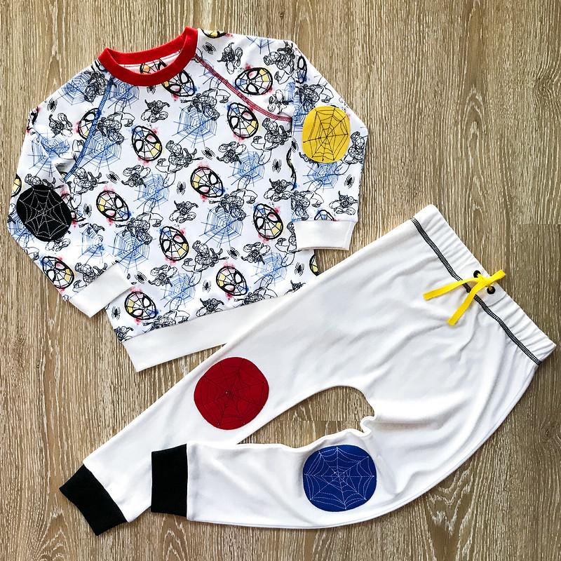 Пижама длямальчика «Человек-паук наотдыхе» от masmar.ru