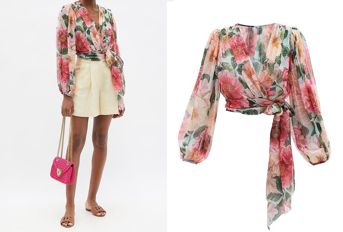 7 вдохновляющих весенних блузок haute couture