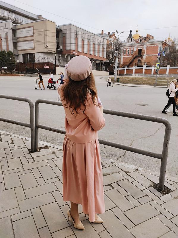 Ретро костюм ишляпа-таблетка от ToneevaMariya