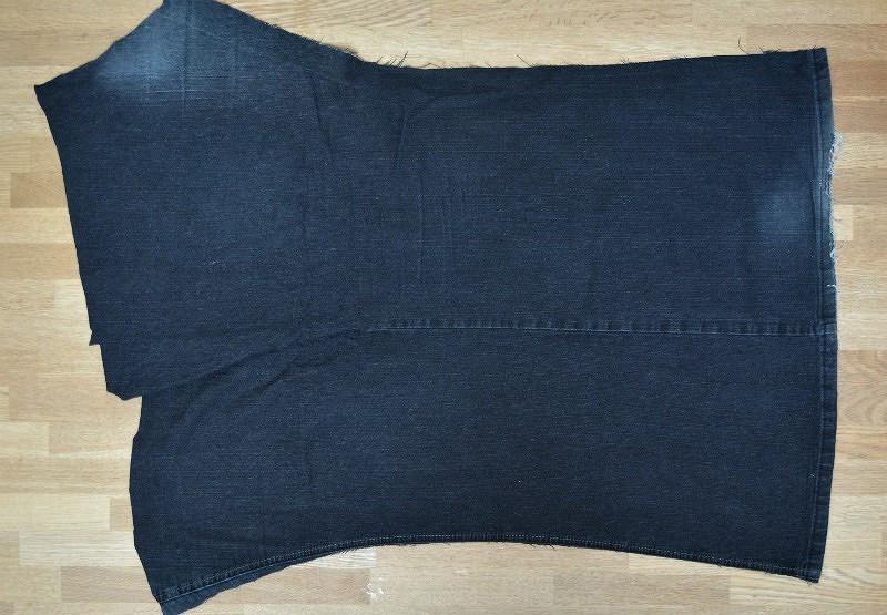 Идея: фартук изстарых джинсов