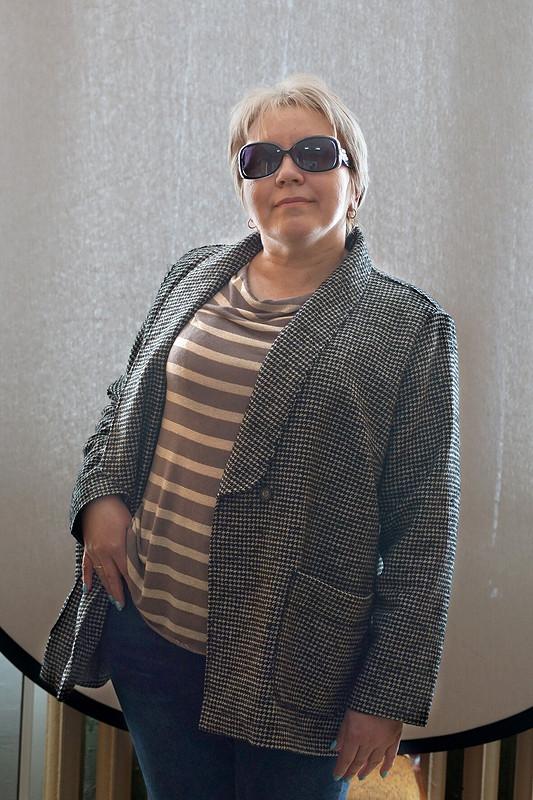 Жакет сшалевым воротником от Natal-14031969