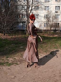 Работа с названием Простое апрельское платье